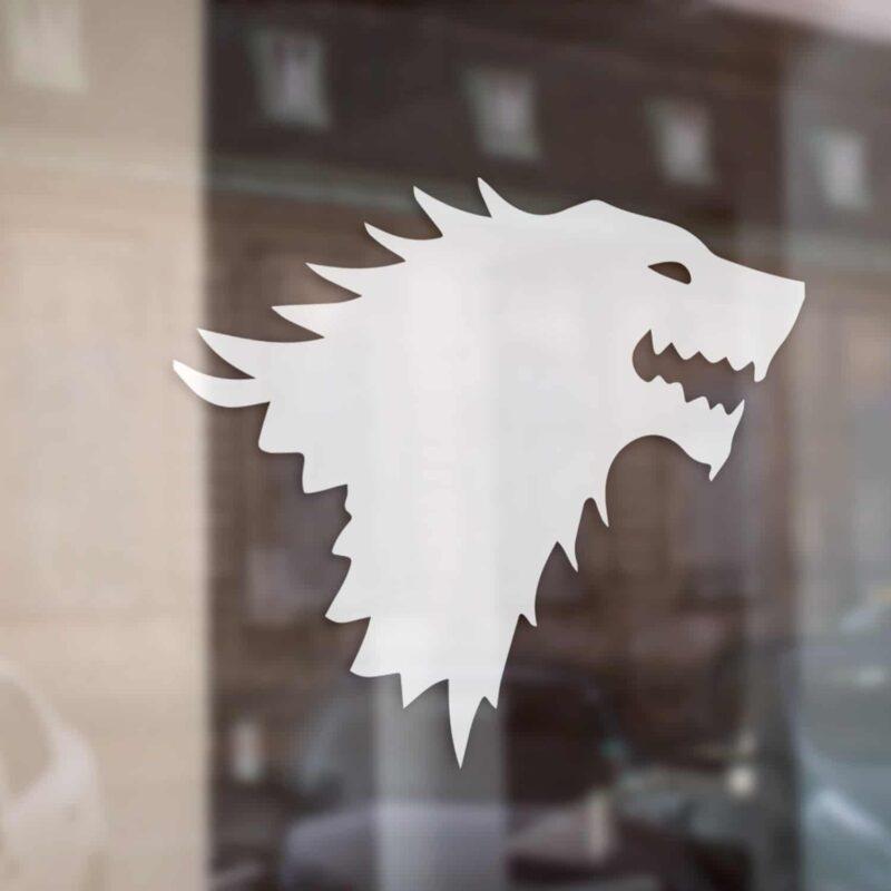 Vlk - Daenerys Targaryen Arya Stark House Stark Winter Is Coming