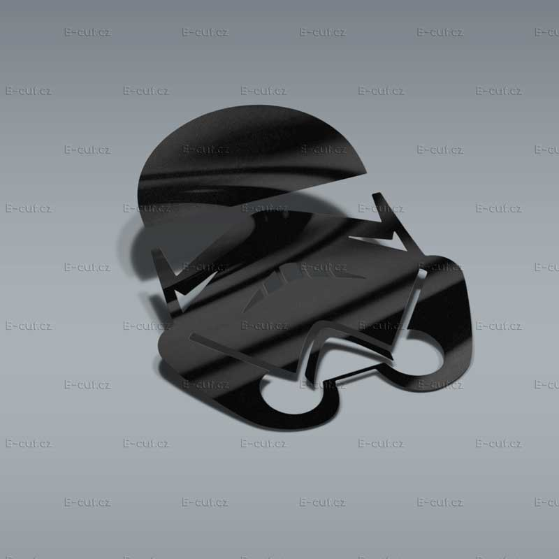 Samolepka Hvězdné Války Stormtrooper