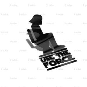 Samolepka Use The Force