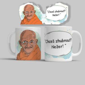 Hrnek Mahátma Gándhí