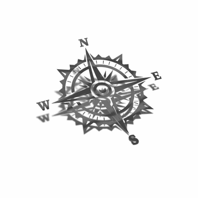 Samolepka Kompas