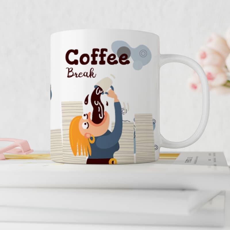 Vtipný hrnek Coffee Break