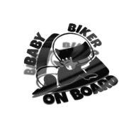 Samolepka Baby Biker On Board