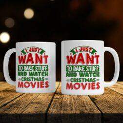 Vánoční hrnek Christmas Movies