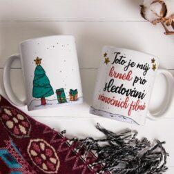 Hrnek pro sledování vánočních filmů